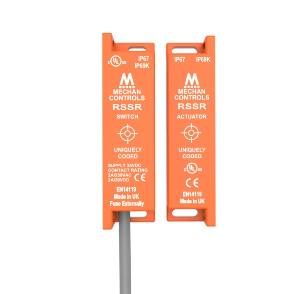 RSSR | Mechan Safety Interlock Switches RFID Safety ... Banner Safety Relay Wiring on
