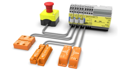 HE-Series | Coded Magnetic Safety Switches | Mechan Controls on