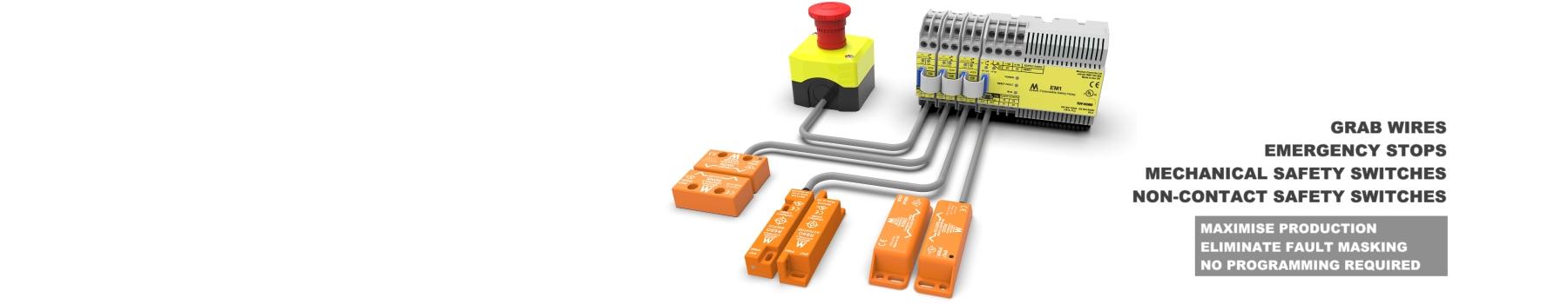 SSR   Mechan Safety Interlock Switches RFID Safety Interlock
